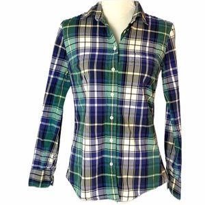 J. Crew The Boy Shirt Tartan Plaid Button Down 2